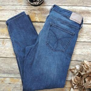 Calvin Klein Jeans Ankle Skinny Denim Jeans Sz 10